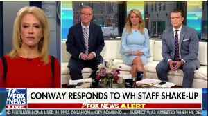 News video: Kellyanne Conway Appears Open To Succeeding Hope Hicks As WH Communications Director
