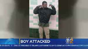 News video: Police: Man Punches, Taunts 5-Year-Old Boy On Subway