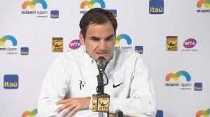 News video: Roger Federer Skipping French Open