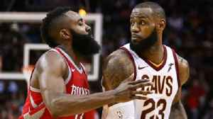 News video: Harden or LeBron: Nick Wright compares The King's MVP-caliber numbers to Houston's Rocket Man