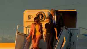 News video: Melania Joins Trump Amid Cheating Scandals as Family Leaves D.C. Ahead of March for Our Lives
