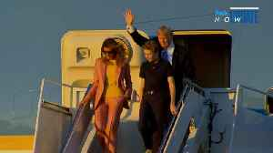 News video: Melania Trump Travels Separately En Route to Mar-a-Lago After Ex-Playmate Details Alleged Affair