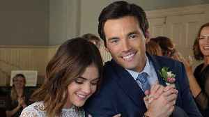 News video: Lucy Hale REUNITES With Ian Harding & PLL Fans Are FREAKING Out