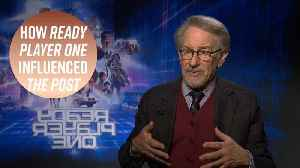 News video: Spielberg reveals what he prays for as a director