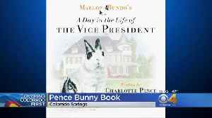 News video: Charlotte And Karen Pence Promote 'Marlon Bundo' Book At Focus On The Family
