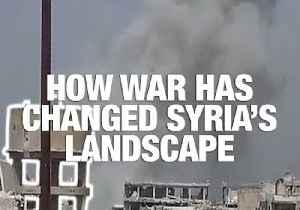 News video: How War Has Changed Syria's Landscape: Mapping the Destruction of East Damascus