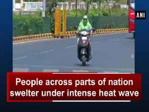News video: People across parts of nation swelter under intense heat wave