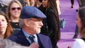 """News video: Spielberg says """"Ready Player One"""" meant to be a 'crowd pleaser'"""