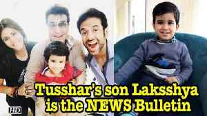 News video: Tusshar : Laksshya is the NEWS Bulletin in Kapoor family