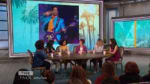 News video: The Talk - Yara Shahidi on Prince & Spills 'Grown-ish' Finale Details