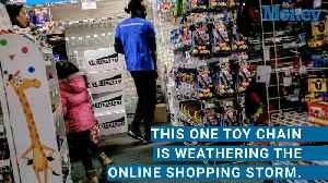 News video: As Toys R' Us Closes, Only One Major Toy Store Is Thriving in the Retail Apocalypse