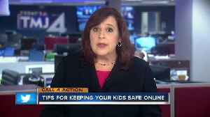 News video: Call 4 Action: Keeping kids safe online