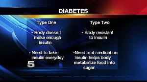 News video: Physician Explains Difference between Type 1, Type 2 Diabetes