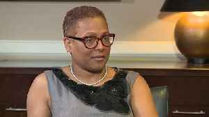News video: Judge Vonda Evans says she should be judged by her work, not her friends