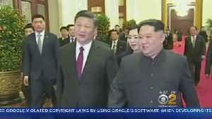 News video: Kim Jong Un Meets With China's President In Beijing