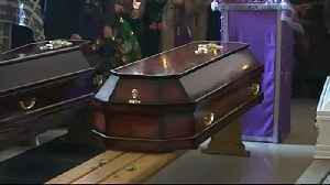 News video: Funerals held for victims of Russia's shopping mall fire