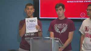 News video: Web Extra: MSD Students Zach Hipsman & Adam Buchwald On 'Parents Promise To Kids' Contract