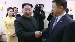 News video: Kim Jong Un's trip to China shown on state TV