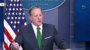 News video: Sean Spicer Suggests Trump Will Not Face Punishment For Sexual Harassment Allegations, Voters Are His 'HR Department'