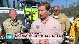 News video: Agricuture Commissioner addresses continuing brush fire danger