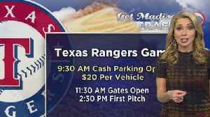 News video: Texas Rangers Opening Day Parking