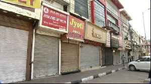 News video: Traders in India's New Delhi strike over shop closures