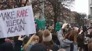 News video: Protesters decry acquittal of rugby players accused of rape