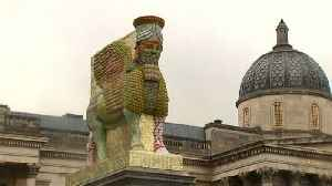 News video: Artist Rakowitz takes over London's Fourth Plinth