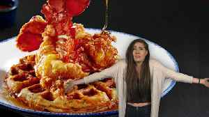 News video: Red Lobster Is Now Selling Lobster and Waffles
