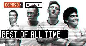 News video: Messi, Pele, Ronaldo or Maradona - Who is The Best of All Time? | COPA Debate