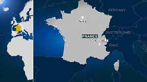 News video: Man arrested for driving stolen car at French soldiers jogging in the Alps