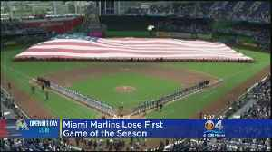 News video: Marlins Open New Season With 8-4 Loss To Cubs