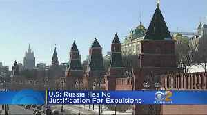 News video: Russia Plays Tit For Tat Over Diplomat Expulsions