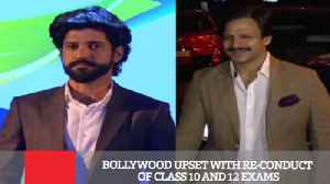 News video: Bollywood Upset With Re-Conduct Of Class 10 And 12 Exams