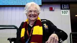 News video: Loyola Chicago's Sister Jean Says God Likes the NCAA Better than the NBA