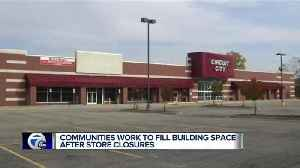 News video: Communities work to fill building space after store closures