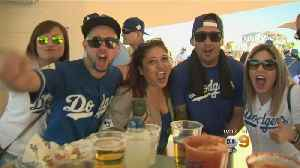 News video: Dodgers Fans Pumped For New Season