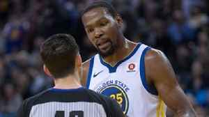 News video: Chris Broussard questions what role the refs played in Kevin Durant's 5th ejection