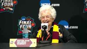 News video: Sister Jean Offers Pearls Of Wisdom On Basketball And Life