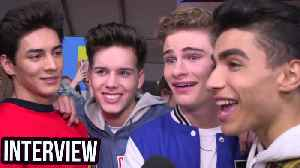 News video: Stars Reveal Their Celeb CRUSHES At The 2018 Kids Choice Awards