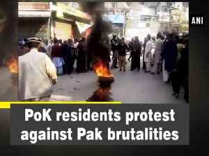 News video: PoK residents protest against Pak brutalities