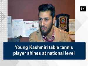 News video: Young Kashmiri table tennis player shines at national level