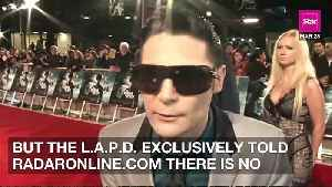 News video: Corey Feldman Was NOT Stabbed In 'Attempted Murder,' Cops Claim