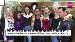 News video: Kendall Jenner Confesses She Doesn't Think She's Gay But Is 'Down' For The Experience