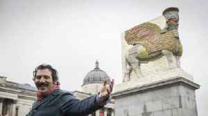 News video: Latest Trafalgar Square fourth plinth artwork recreates destroyed Iraqi sculpture