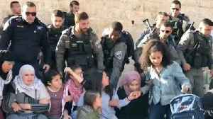 News video: Security Forces Remove Protesters From Damascus Gate Following Deadly Gaza Protests
