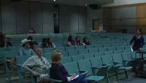 News video: Smaller than normal crowd at gender diversity meeting