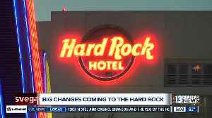 News video: Virgin Group founder Sir Richard Branson announced Friday that Virgin will rebrand the Hard Rock hotel-casino.