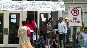 News video: Howard University Students Stage Sit-in Amid Financial Aid Scandal