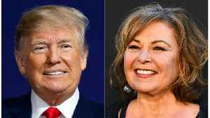 News video: Roseanne Claims Trump Has Freed Children Around The World From Sex Slavery